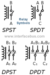 solid state relay electrical symbol
