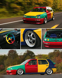 Vw Mk3 Golf Harlequin On Instagram