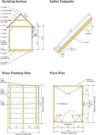 shed floor plans free shed floor plans