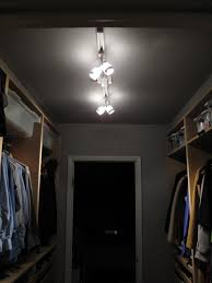 Closet Lighting Ideas by Easy On The Eye The Nursery Closet Was Not A Entrancing Walk In