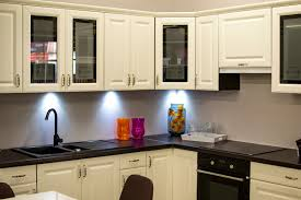 refacing kitchen cabinets with glass doors spruce up your kitchen cabinets