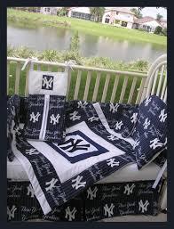 Yankees Crib Bedding Upscale New York Yankees Baby Crib Bedding By Alexiskleegrandma