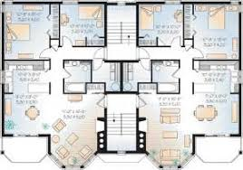 Multi Family Apartment Floor Plans Multi Family Apartment Floor Plans House Plans