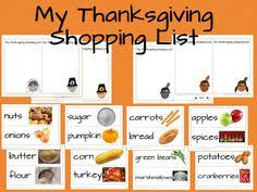thanksgiving shopping list food thanksgiving