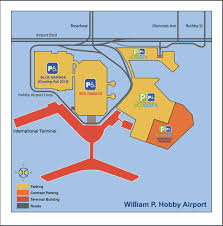 map houston airports hobby airport parking guide hou airport parking