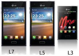 lg android lg launches the optimus l7 l5 and l3 android smartphons in india