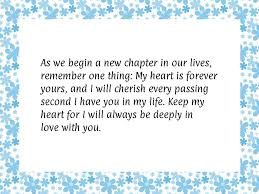 wedding wishes new chapter anniversary quotes to husband