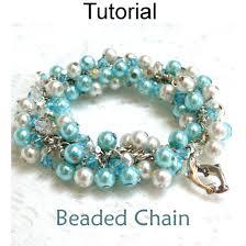 simple beaded bracelet images Beaded chain beaded bracelet pdf beading pattern simple bead jpg