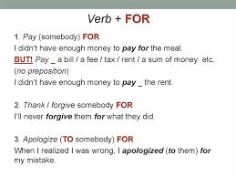 management of verbs in english презентация онлайн