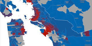 Bay Area Map New Map Shows The Decline Of Sf U0027s Black Population U2013 The Bold Italic