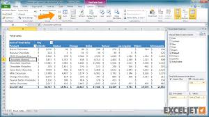 how to sort a pivot table excel tutorial how to sort a pivot table alphabetically