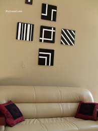 Decorated Living Rooms by Wall Art Decor My Scrawls