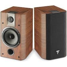 Bookshelf Speakers With Bass Chorus 705 2 Way Bass Reflex Bookshelf Speaker Pair Walnut