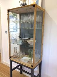 glass cabinet for sale interior wall curio cabinet