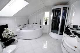 big bathrooms creating bathrooms in spaces big and small abode