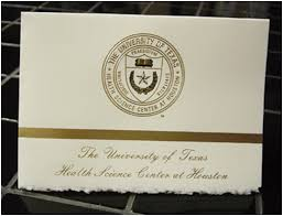 college grad announcements of health science center houston graduation