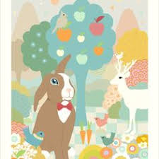 a stunning wallpaper for kids u0027 rooms woodland fawn wallpaper by