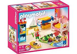 chambre playmobil playmobil 5333 jeu de construction chambre des enfants avec