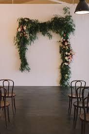 Wedding Backdrop Melbourne Lauren Steve Wedding Flowers Floral Installation Foliage