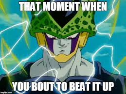 Cell Meme - dragon ball z perfect cell meme generator imgflip