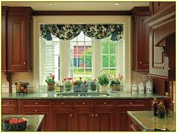 window over kitchen sink kitchen valances window treatments
