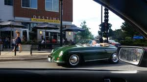 old porsche speedster i saw a porsche 356 speedster today the owner even let me sit in