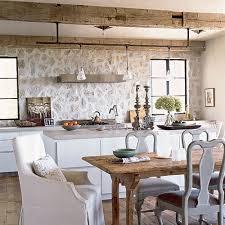 Coastal Kitchens Images - unique kitchen surfaces coastal living