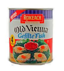 rokeach gefilte fish rokeach 4 pieces vienna gefilte fish in jelled broth 27 oz