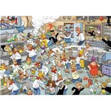 puzzle cuisine puzzle 1000 piéces c est la vie en cuisine achat vente puzzle