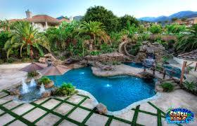 furniture outstanding orange swimming pool and landscape design
