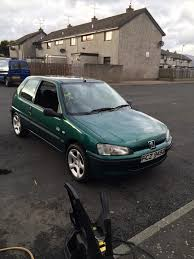 peugeot 106 gti 306 dturbo 205 first car in newry county down