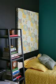 Black Feature Wall In Bedroom Pinspiration Monday Paint It Black Dream Green Diy