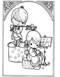 precious moments 6 coloringcolor com
