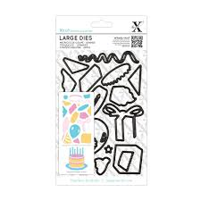 Xcut Large Dies Christmas Decorations by Large Dies 19pcs Birthday Party Docrafts Com