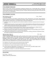 Short Resume Sample download procurement resume haadyaooverbayresort com