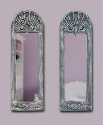 shabby chic vintage mirror pair project by decoart