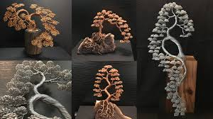 majestic wire tree sculptures by andy elliott by andy elliott