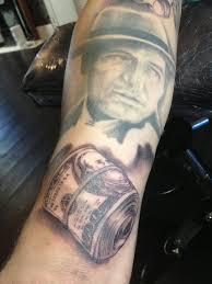 rose tattoo hundred dollar bill danielhuscroft com