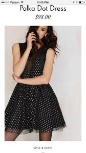 nasty gal on the spot polka dot dress clothes get discovered