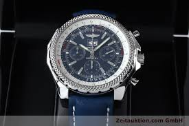 breitling bentley diamond breitling bentley chronograph steel automatic kal b44 eta 2892a2