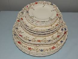 copeland spode wicker dale dinnerware china set from