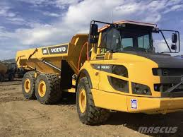 trucks for sale volvo used used volvo a30g articulated dump truck adt year 2017 for sale