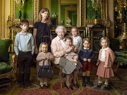 9 burning questions about the arresting new royal family portraits