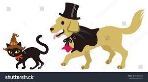 halloween disguise cat dog stock vector 213696592 shutterstock