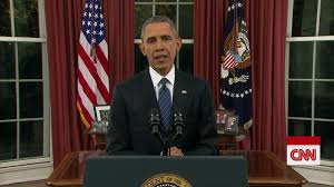 president obama u0027s full oval office address cnn video