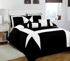 black and white bedroom comforter sets 11 piece king jefferson black and white bed in a bag w 600tc