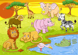 african safari animals group of african safari animal stock photo picture and royalty