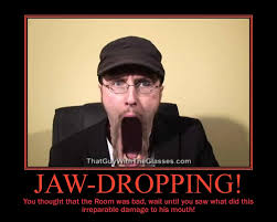 Jaw Drop Meme - jaw drop nostalgia critic by comptech224 on deviantart