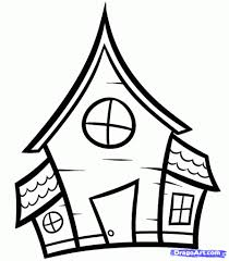 haunted house clipart free house drawing for children child drawing of a house clipart free