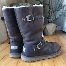 s sutter ugg boots toast 64 ugg shoes ugg sutter waterproof toast leather buckle